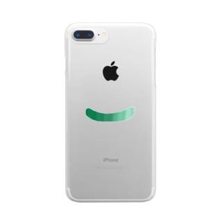 きゅうり Clear smartphone cases