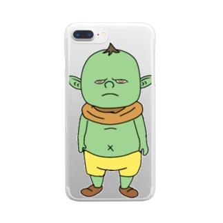 バーチャルゴブリングッズ Clear smartphone cases