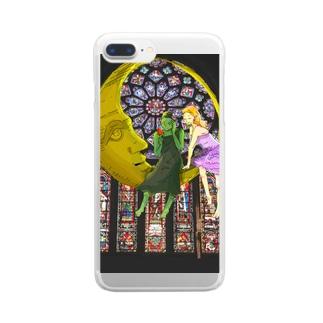 WICKEDの魔女's(サマー Clear smartphone cases