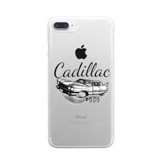 キャデラック☆ Clear smartphone cases
