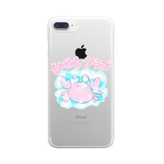 ひやしクラブ Clear smartphone cases