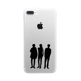 Triplets Clear smartphone cases