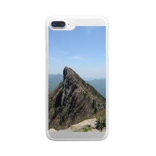 石鎚山 Clear smartphone cases
