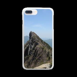 写真集の石鎚山 Clear smartphone cases