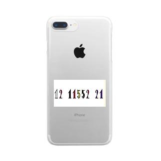 にいなグッズ Clear smartphone cases