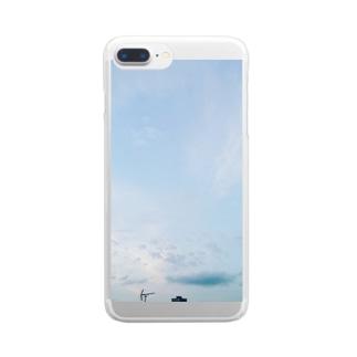 夏の空 Clear smartphone cases
