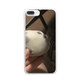 豆大福の時間や Clear smartphone cases