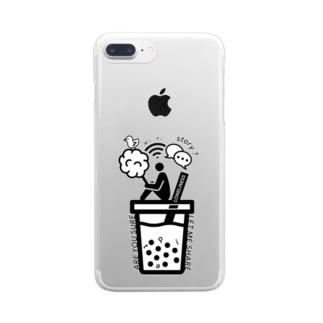 HARAJUKU'19 シリーズ Clear smartphone cases