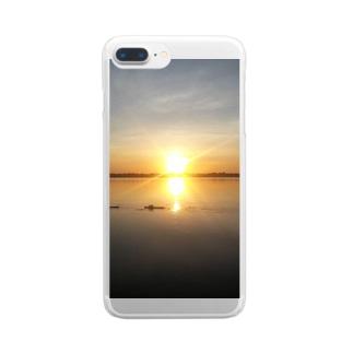 Orange World Clear smartphone cases
