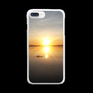 「ApRenDiz」のOrange World Clear smartphone cases
