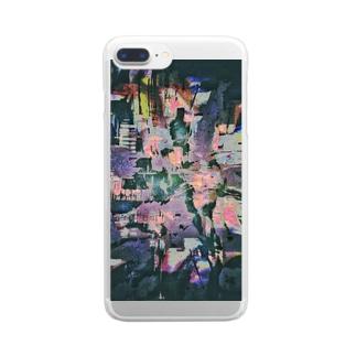 ダークナイト Clear smartphone cases