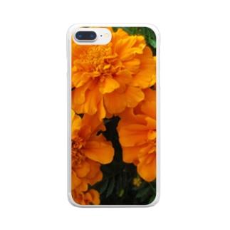 明るく爽やかに!! Clear smartphone cases