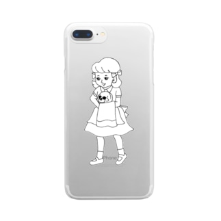 polly anna(ポリアンナ) Clear smartphone cases
