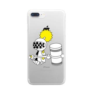 ナイツ・ハンマー Clear smartphone cases