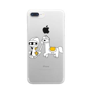 ナイツ・ライド Clear smartphone cases