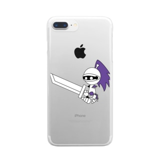 ナイツ・クレイモア Clear smartphone cases