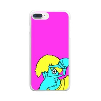 からふるボーイのiPhoneケース Clear smartphone cases
