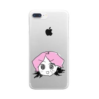 姫路春香さん Clear smartphone cases