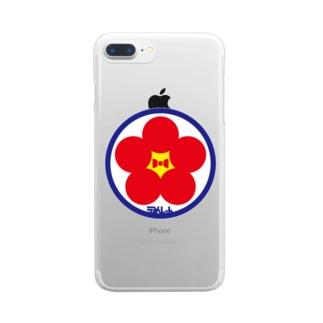 パ紋No.3388 うめしゃん Clear smartphone cases