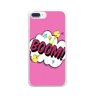 BOOM! Clear smartphone cases