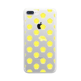 コーンバターの大群クン Clear smartphone cases