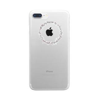 リースつー Clear smartphone cases