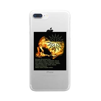 [大友窯SkullxBASARACRACY]#04「聖書」 Clear smartphone cases