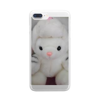 とらうさちゃん Clear smartphone cases