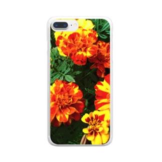 幸せになれるよ!! Clear smartphone cases