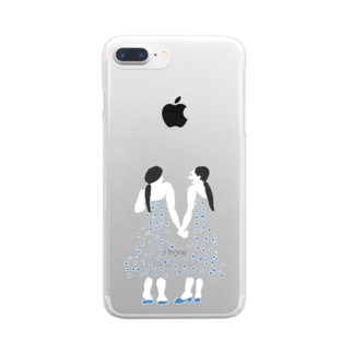 twins Clear Smartphone Case