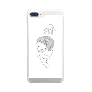 戻らないモノ Clear smartphone cases