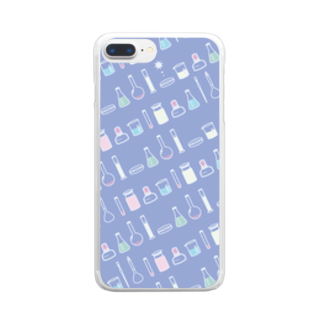 ろじうらサイエンスのTOKIMEKI-RIKASHITSU3 Clear smartphone cases