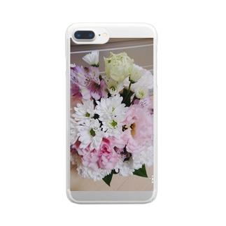 納車おめでとう Clear smartphone cases