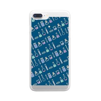 TOKIMEKI-RIKASHITSU2 Clear smartphone cases