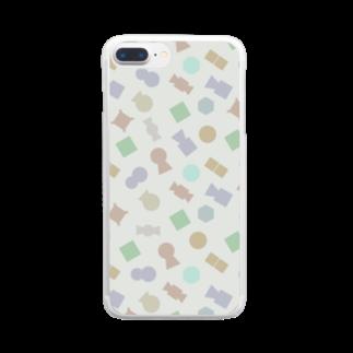 ろじうらサイエンスのKOFUN Clear smartphone cases