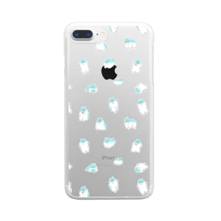 Good Boy Mailo ! ワラワラソーダ Clear smartphone cases