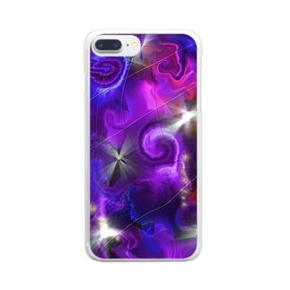 AMATERASU ILLUSION Clear smartphone cases