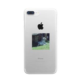トラシリーズ Clear smartphone cases