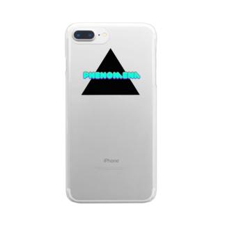 phenomenaちゃん Clear smartphone cases