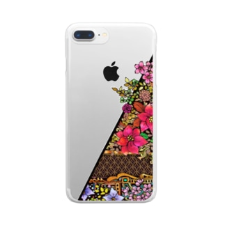 ネイチャーシリーズ 花言葉 ~Nature series Flower~ Clear smartphone cases