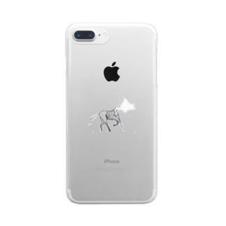 NaraPienaar アイテム Clear smartphone cases