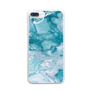 とてもみずみずしいケース Clear Smartphone Case