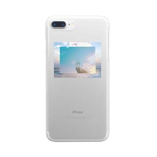 シーグラス Clear smartphone cases