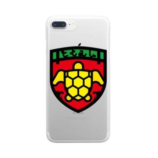パ紋No.3397 ともみん  Clear smartphone cases