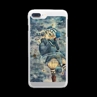 賢治八軒の天文呪術少年 Clear smartphone cases