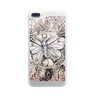 樹海 Clear smartphone cases