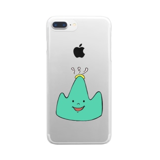 なかい山8周年 Clear smartphone cases
