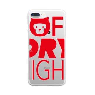 Maco's Gallery ShopのSOFT DRY NIGHT Clear smartphone cases