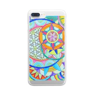 カーニバル Clear smartphone cases
