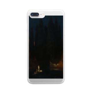 死者の島 Clear smartphone cases